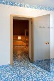 Bain de sauna photographie stock