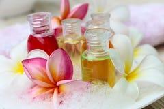 Bain de shampooing et de gel Photo libre de droits