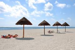 Bain de Sun Photo libre de droits