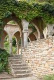 Bain romain dans la cour du palais de Balchik, Bulgarie Photos stock