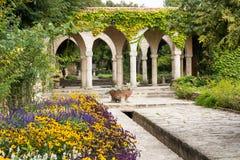 Bain romain dans la cour du palais de Balchik, Bulgarie Photos libres de droits