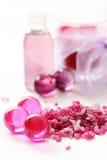 Bain rose Images libres de droits