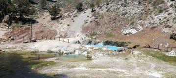 Bain thermique en Californie image stock