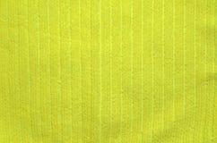 Bain turc de serviette éponge naturelle jaune de peluche/serviette de plage Image libre de droits