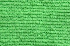 Bain turc de serviette éponge naturelle verte de peluche/serviette de plage, Photo libre de droits