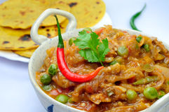 Baingan Bharta Royalty Free Stock Images