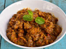 Baingan Bharta Royalty Free Stock Photos