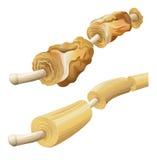 Bainhas de myelin danificadas e saudáveis Imagens de Stock Royalty Free