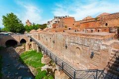 Bains de soufre à Tbilisi, la Géorgie Photo stock