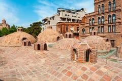 Bains de soufre à Tbilisi, la Géorgie Photo libre de droits