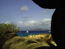 Bains de Virgin Gorda Photo libre de droits