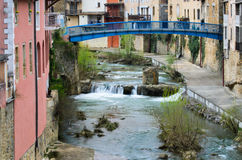 Bains (France) Royalty Free Stock Photo