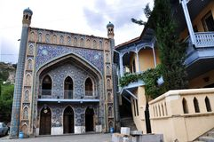 Bains sulfuriques à Tbilisi Images stock