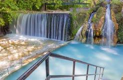 Bains thermiques de Pozar, Macédoine, Grèce Images stock