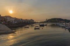 Baiona Pontevedra, Espanha Imagem de Stock Royalty Free