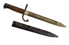 Baionetta tedesca di Mauser del pugnale immagine stock