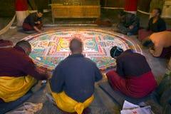 Baiqoiklooster van Gyangze in Tibet Shigatse Royalty-vrije Stock Foto