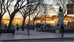Bairro-Alt - Lissabon - Portugal lizenzfreie stockbilder