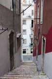 Bairro Alto District in Lisbon Stock Image