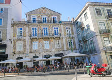 Bairro Alto, Lisbon, Portugal Royalty Free Stock Images