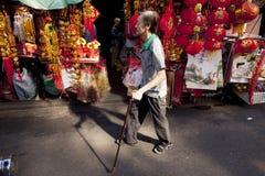 Bairro chinês de Bangkoks Imagem de Stock Royalty Free