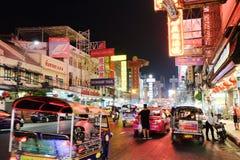 Bairro chinês de Banguecoque Imagens de Stock