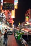 Bairro chinês de Banguecoque Fotografia de Stock