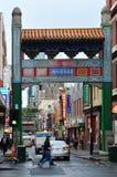Bairro chinês de Melbourne Imagens de Stock