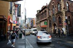 Bairro chinês de Melbourne Fotos de Stock Royalty Free