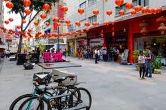 Bairro chinês em Cidade do México foto de stock