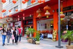 Bairro chinês em Cidade do México imagem de stock royalty free