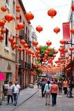 Bairro chinês em Cidade do México imagens de stock