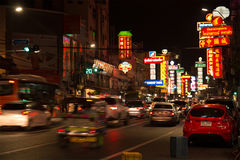 Bairro chinês em Tailândia imagens de stock royalty free