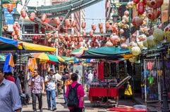 Bairro chinês - Kuala Lumpur Fotos de Stock Royalty Free