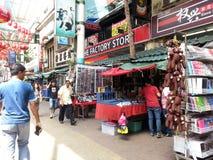 Bairro chinês Malásia, rua de Petaling Imagem de Stock Royalty Free