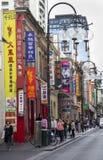 Bairro chinês, Melbourne Imagem de Stock