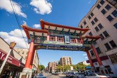 Bairro chinês Seattle fotos de stock royalty free