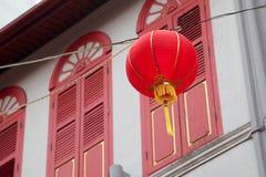 Bairro chinês Singapura Imagens de Stock