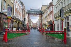 Bairro chinês Londres Imagem de Stock Royalty Free