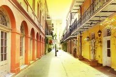 Bairro francês de Nova Orleães imagem de stock