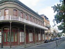 Bairros franceses (Nova Orleães) imagens de stock