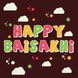 Baisakhi feliz Imagem de Stock