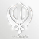 Baisakhi feliz Imagens de Stock Royalty Free