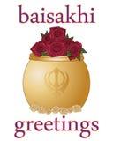 Baisakhi greetings Stock Photo