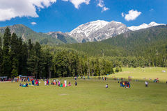 Baisaran, Mini Switzerland, Kashmir, India Stock Images