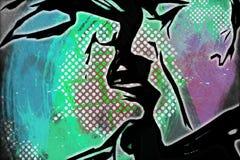 baiser illustration stock
