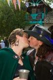 Baiser de festival de la Renaissance Photo stock