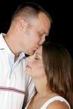 Baiser de l'amour Photographie stock