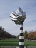 Baiser - une sculpture Photo stock