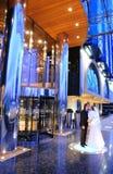 Baiser Wedding Photo stock